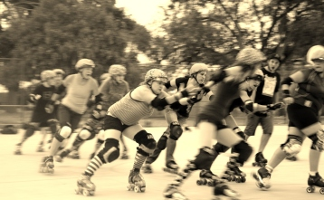 Cool Roller Derby Pic
