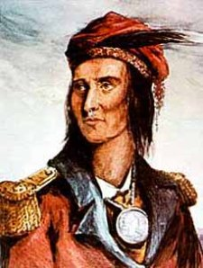 A portrait of Tecumseh i found online.