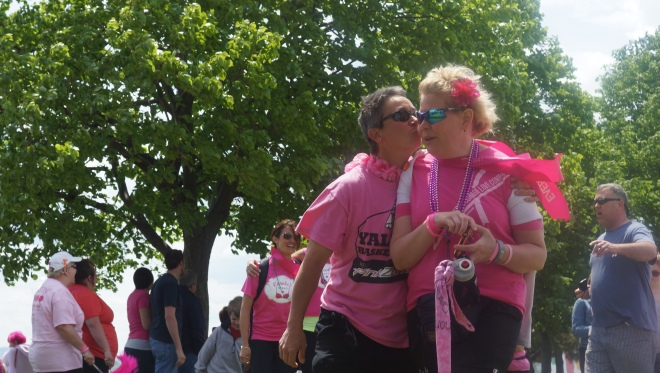 This was a quick snapshot taken at the Avon walk Boston.
