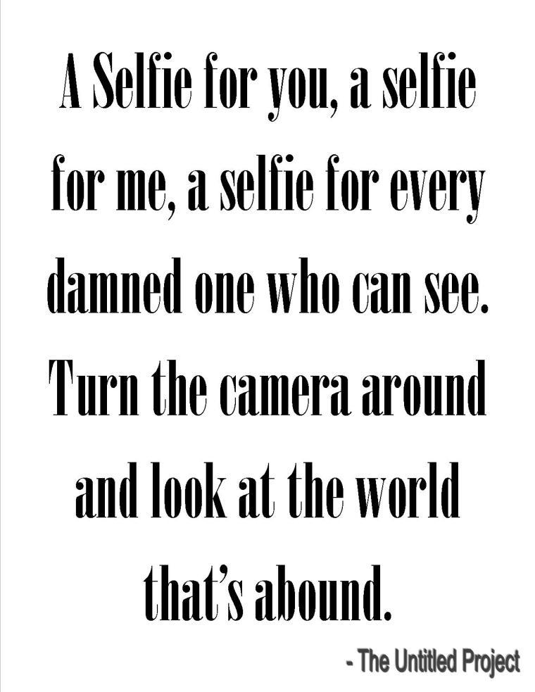 Selfie verse